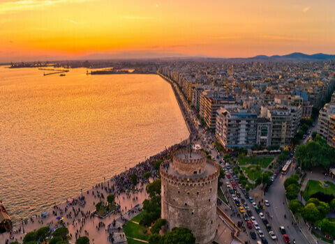 Thessaloniki Airport to City Taxi - Transfer - Greek Transfer Services