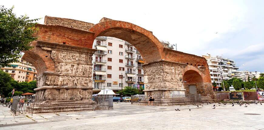 City Break in Thessaloniki - Archaeological Sites and Museums- Kamara - Greek Transfer Services