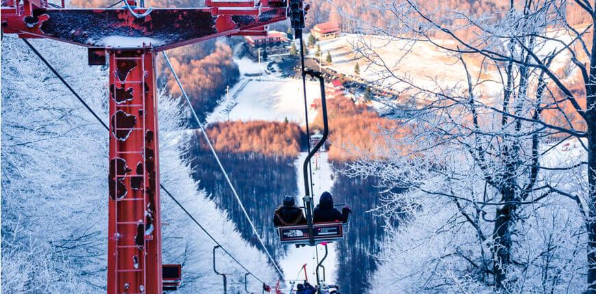 Top 7 Ski Resorts in Greece - 3-5 Pigadia - Greek Transfer Services