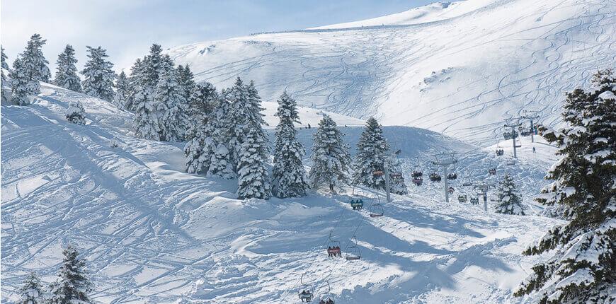 Top 7 Ski Resorts in Greece - Kalavrita Ski Centre - Greek Transfer Services
