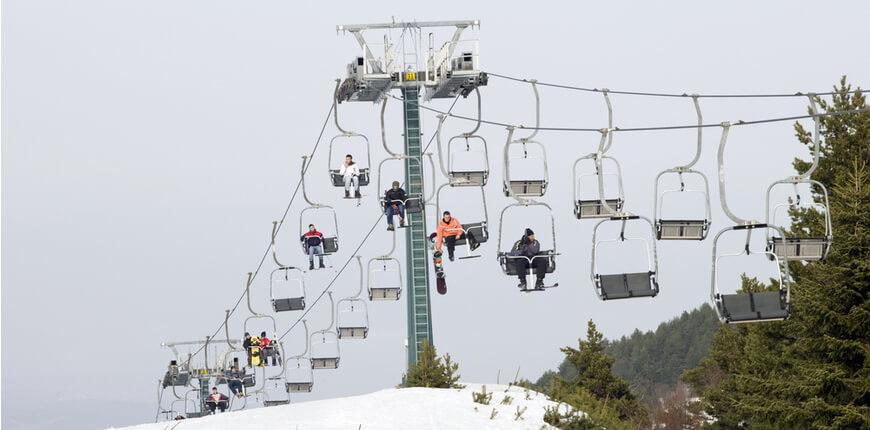Top 7 Ski Resorts in Greece - Mount Olympus Elatochori Ski Centre - Greek Transfer Services