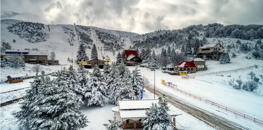 Top 7 Ski Resorts in Greece - Seli Ski Resort - Greek Transfer Services