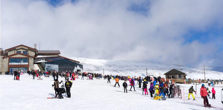 Top 7 Ski Resorts in Greece - Ski Centre Voras - Kaimaktsalan - Greek Transfer Services