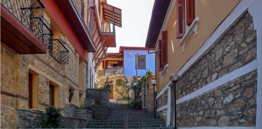 Explore the mountainous side of Halkidiki - Mount Cholomondas - Stop by Arnaia village - Greek Transfer Services