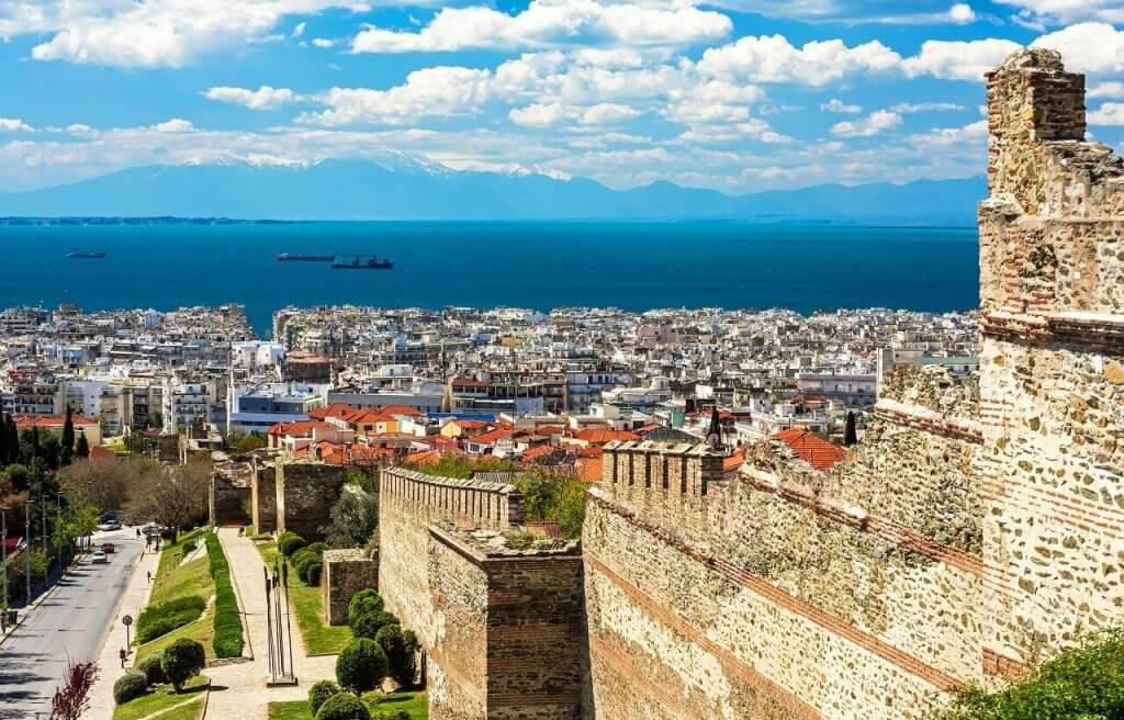 Acropolis Walls - Unesco Monuments Thessaloniki - Greek Transfer Services
