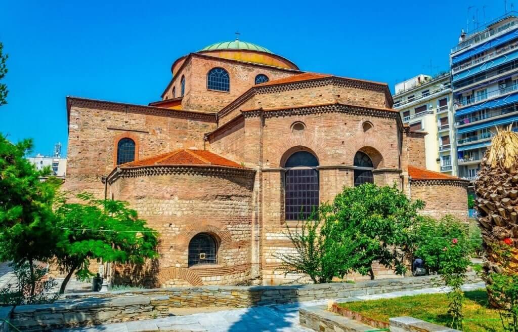 Agia Sofia - Unesco Monuments - Thessaloniki - Greek Transfer Services