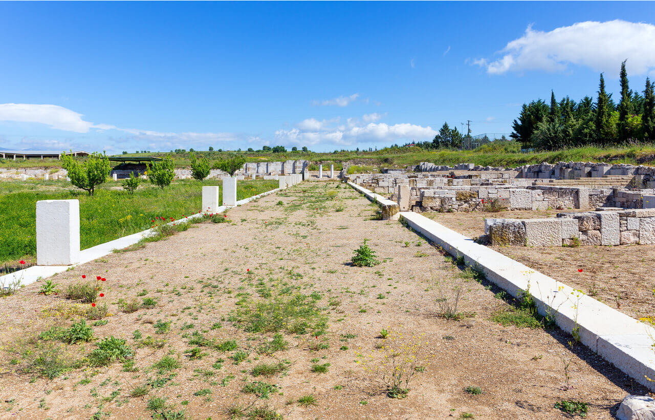 Agora of Ancient Pella - Greek Transfer Services