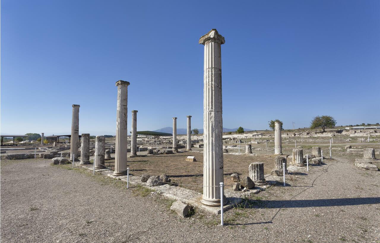 Ancient Pella - Ruins - Greek Transfer Services