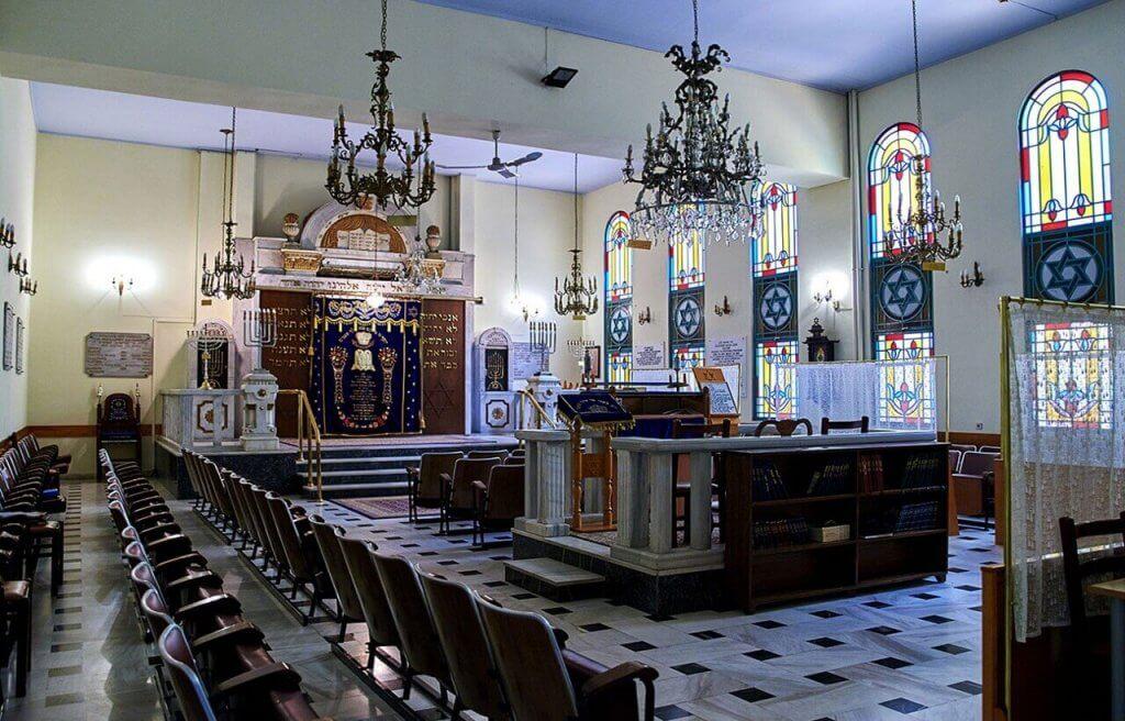 Giad Lezikaron Synagogue - Jewish Monuments Thessaloniki