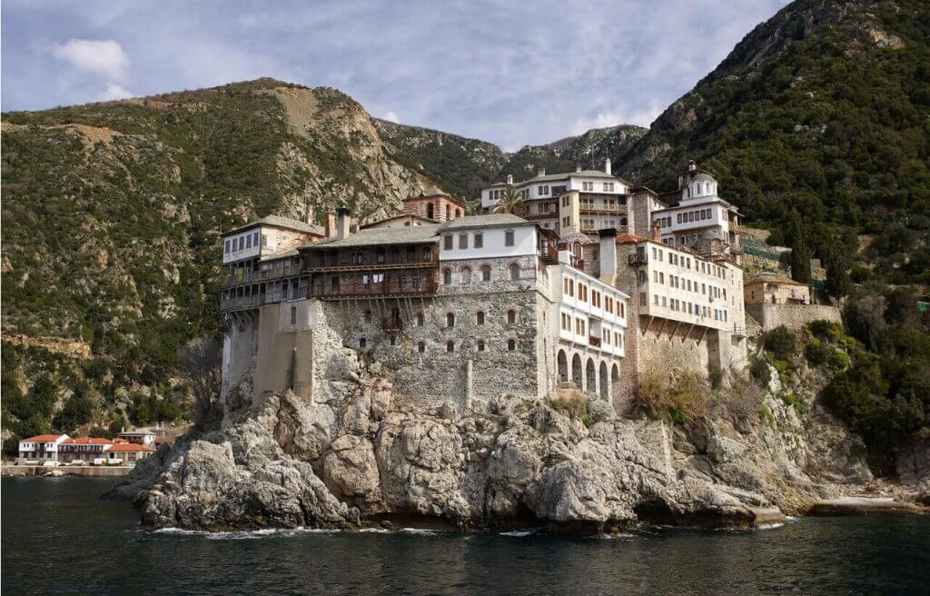 Gregoriou Monastery - Mount Athos - Greek Transfer Services
