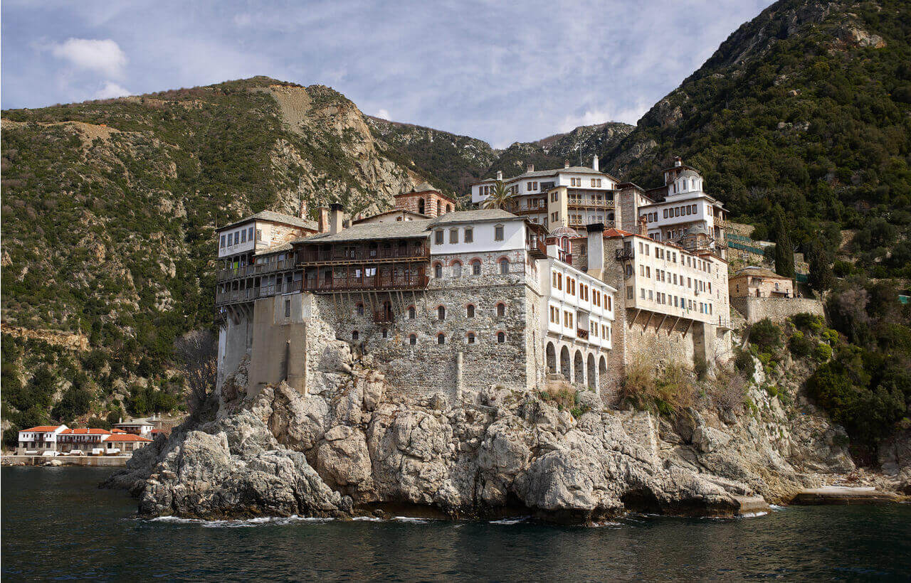 Gregoriou Monastery - Mount Athos - Greek Transfer Services
