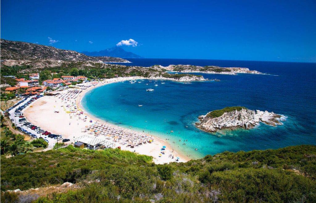 Kalamitsi Beach - Sithonia Halkidiki - Greek Transfer Services