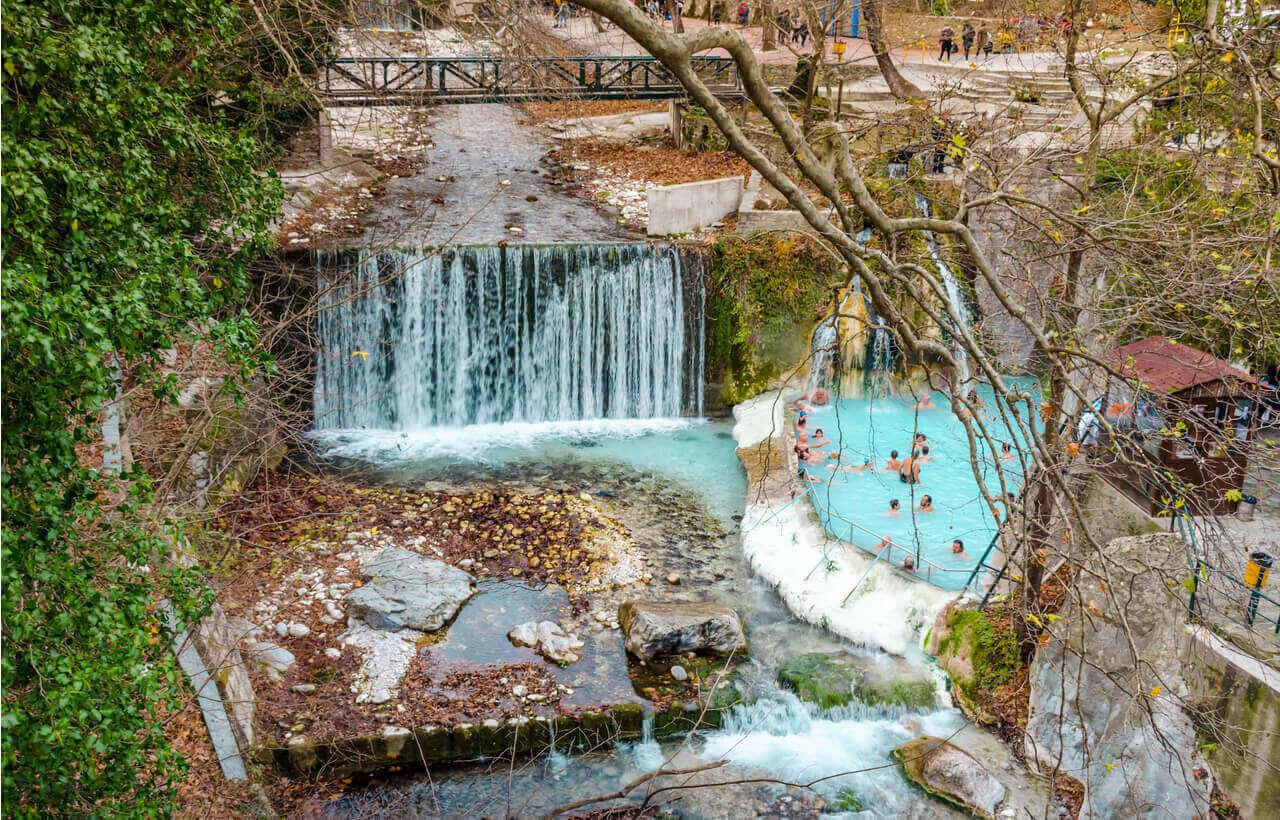 Pozar Thermal Springs - Edessa - Greek Transfer Services