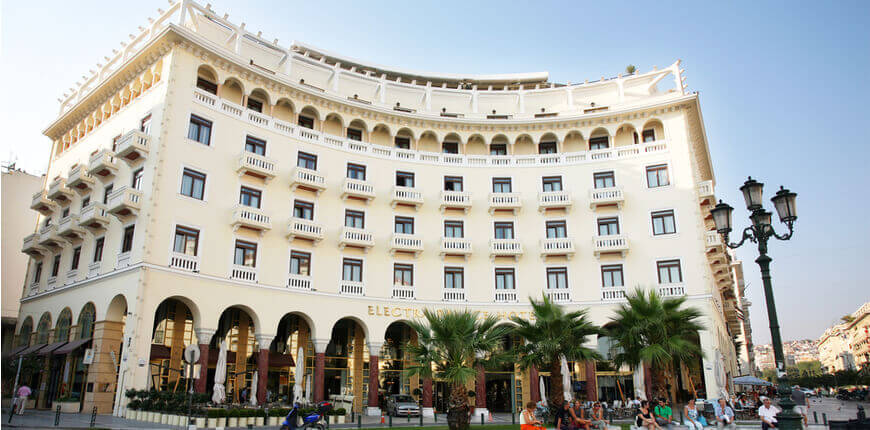 The best 7 Thessaloniki Hotels for 2020 - Electra Palace - Greek Transfer Services