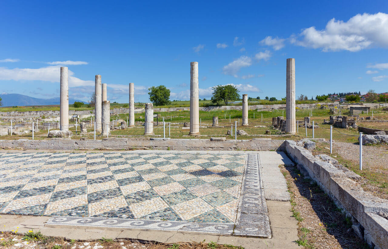 Town of Alexander the Great - Ancient Pella - Greek Transfer Services